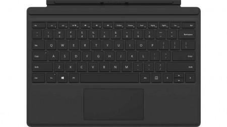 Microsoft Surface Pro Type Cover Microsoft Cover port QWERTZ Schwarz Tastatur für Mobilgeräte