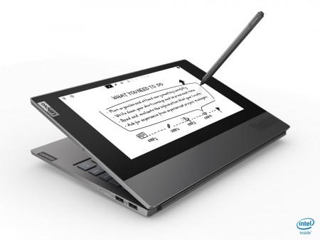 "Lenovo ThinkBook Plus, 13.3'' FHD IPS + 10.8"" E Ink FHD touch antiglare, Intel Core i5-10210U, 8GB RAM, 256 GB SSD, Windows 10 Pro, 2 Jahre Garantie"