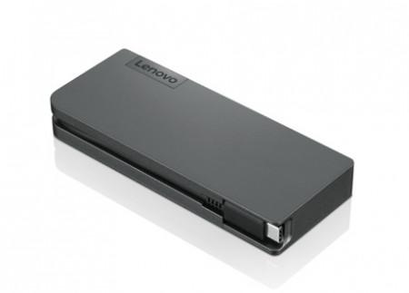 Lenovo Powered USB-C Travel Hub - Docking Station - USB-C - VGA, HDMI - WW - fur ThinkPad T480; T480s; T490; T590; X1 Carbon (6t