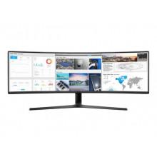 "Samsung 49"" UHD Monitor curved (USB-C)"